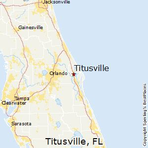 where is titusville florida on a map map best places to live in titusville florida