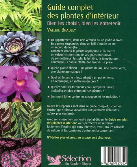 valerie bradley guide des plantes d int 233 rieur