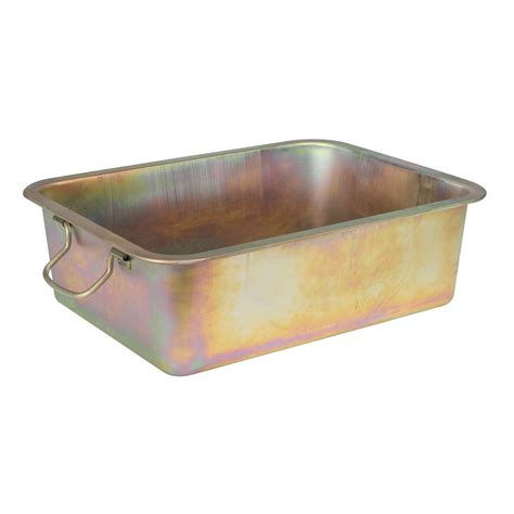 under drip tray sealey oil drain draining drainage pan container