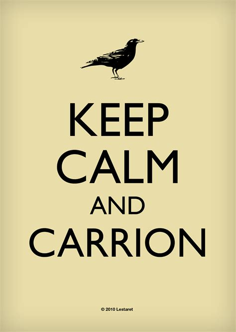 Original Keep Calm Meme - keep calm and carrion keep calm and carry on know your