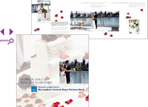 Novotel Wedding Brochure by Design And Illustration By Pat Weedon