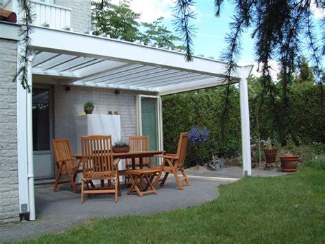 veranda ohne dach dach f 252 r terrasse zf49 hitoiro