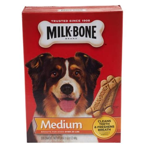 milk bones for dogs academy milk bone 174 26 oz original medium biscuits