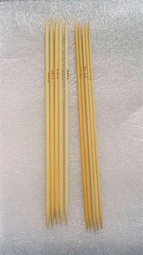 4 mm knitting needle 3mm 4mm 10pcs bamboo sock knitting needles