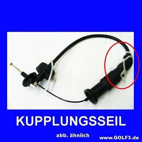 Vw Golf 3 Kupplungsseil Wechseln by Kupplungszug Selber Wechseln Golf3 De
