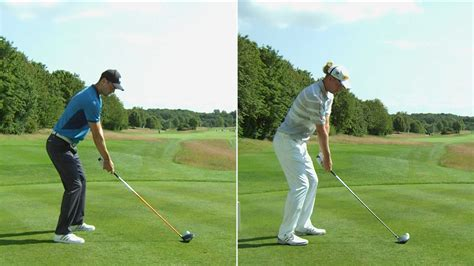 slow mo golf swing slow mo swings martin kaymer vs marcel siem golf channel