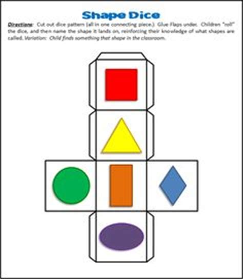 pattern games to play in the classroom free printable paint cube from teach preschool via www
