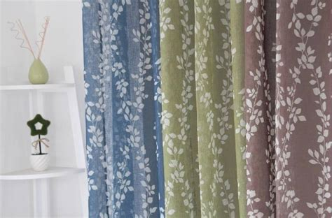 french voile curtain panels french country provincial leaf blue coffee green sheer