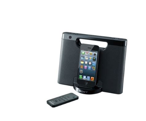 sony rdpm7ipn lightning iphone ipod portable speaker dock import it all