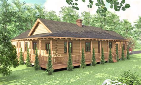 cabin style home log cabin ranch style home plans log ranchers homes ranch