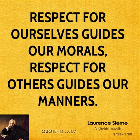 Recpect Fo Others laurence sterne quotes quotehd