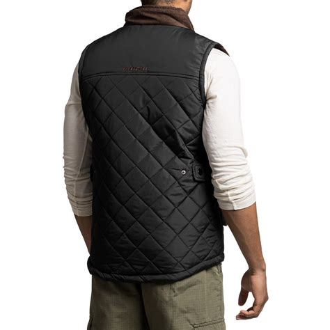 Quilted Vest For by Two Tone Quilted Vest For Save 74
