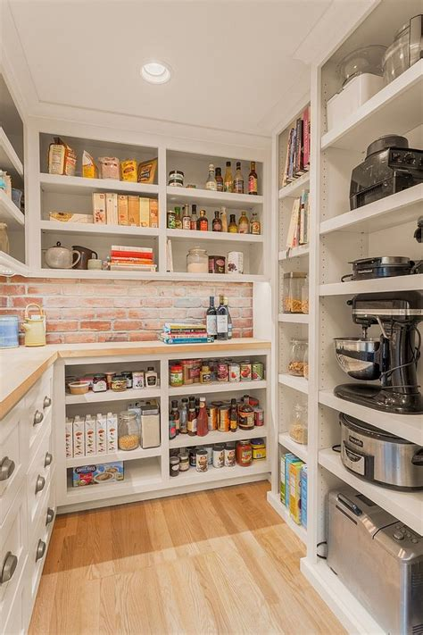 larder section kitchen 10 unique pantries that usher textural beauty into modern