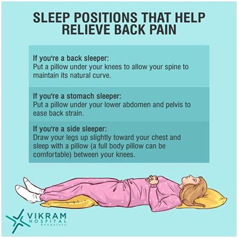 lower back pain in bed sleeping positions back pain problems vikram hospital blog
