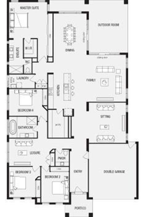 rear master bedroom house plans 25 best ideas about australian house plans on pinterest
