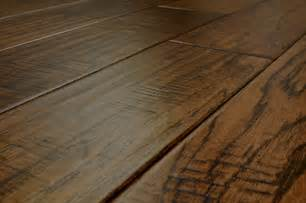Engineered Hardwood Flooring Jasper Engineered Hardwood Handscraped Collection Hickory 5 Quot 1 2 Quot Random Length