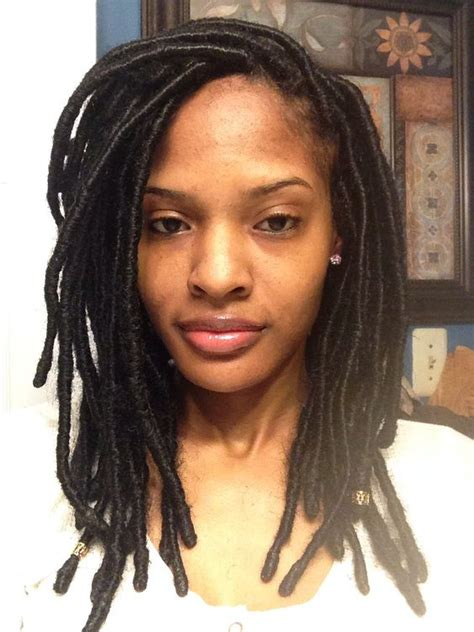 bob length locs 30 short faux locs hairstyles how to style short faux locs