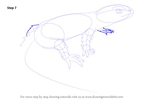 armadillo lizard coloring page step by step how to draw an armadillo girdled lizard