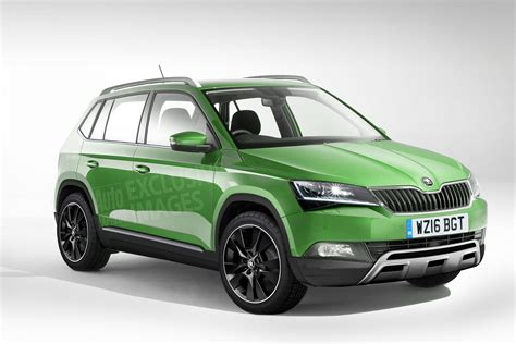 skoda yeti new model baby skoda yeti new fabia sized suv on the cards for