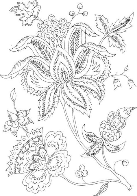free printable flower coloring pages for adults flower coloring page