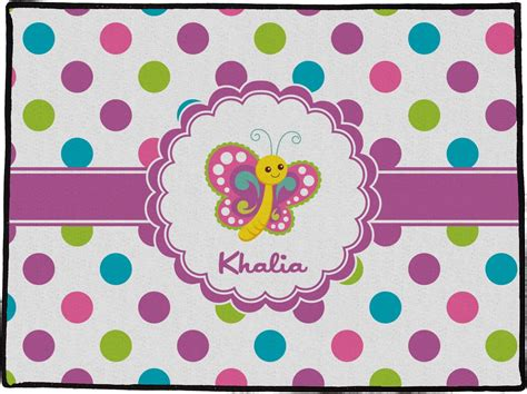 Playette 2 In 1 Support Butterfly Dot polka dot butterfly door mat 24 quot x18 quot personalized youcustomizeit