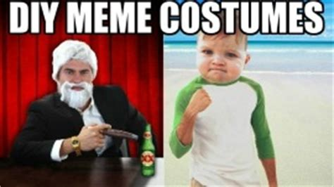 Meme Ideas - costume ideas based on your favorite memes halloween