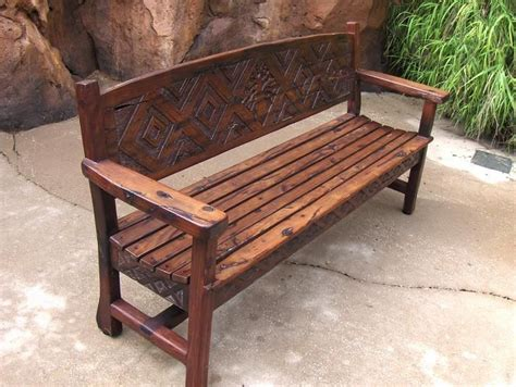 custom wood benches 49 best images about wood furniture on pinterest rocking