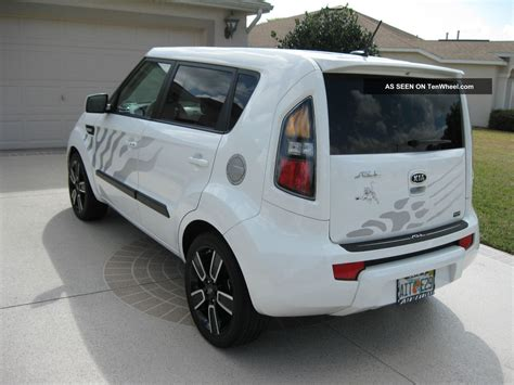 Limited Edition Kia Soul 2011 Kia Soul Special Limited Edition White Tiger