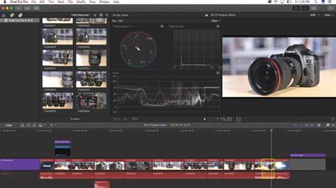 final cut pro review apple final cut pro x 10 3 review videomaker com