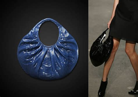 Other Designers Sang A Pleated Python Evening Clutch by Designers Bag Sang A