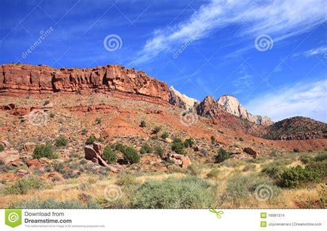 Garden Ridge Mt Zion Mount Zion National Park Stock Images Image 16981374