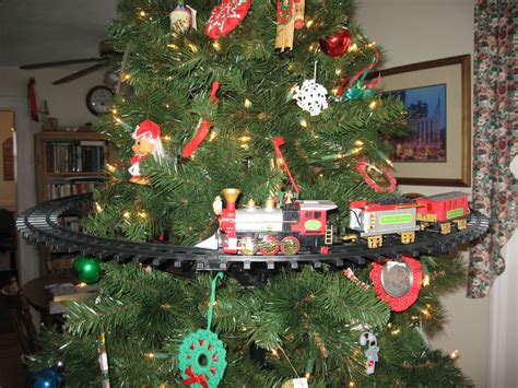 animated christmas train set battery operated mounts in