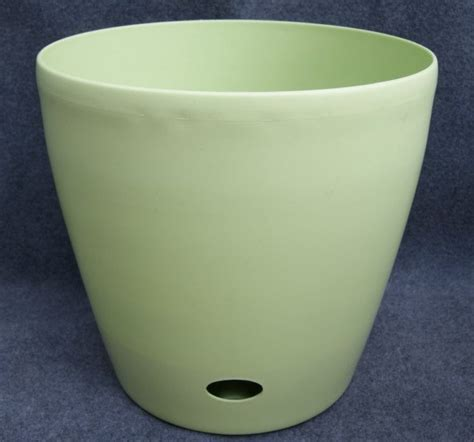 Plastic Flower Planters by China Self Watering Plastic Flower Pots Plant Decoration 5106 5107 5108 China Garden Flower