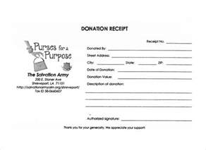non profit donation receipt template image gallery non profit donation receipt template