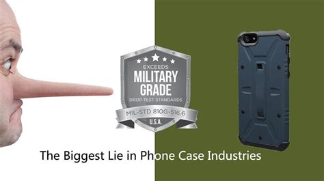 military grade protection  biggest lie  phone case industries pitaka