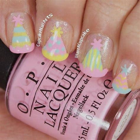 birthday themed nail art top 25 ideas about nail art birthdays celebrations on