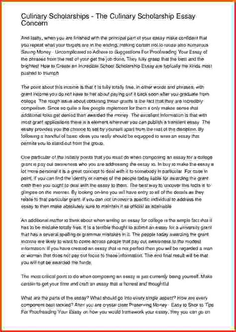 Getting Essay by 8 How To Write A Scholarship Essay Sponsorship Letter