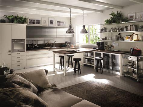 zona living e cucina cucina scavolini con diesel soluzioni di design per un