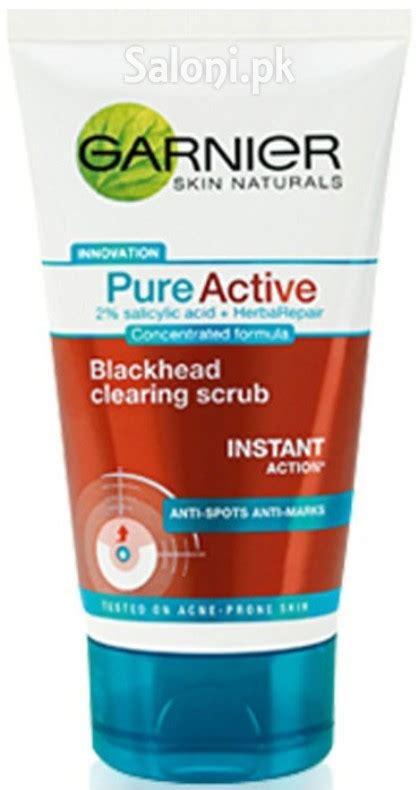 Garnier Active Scrub saloni product review garnier active blackhead