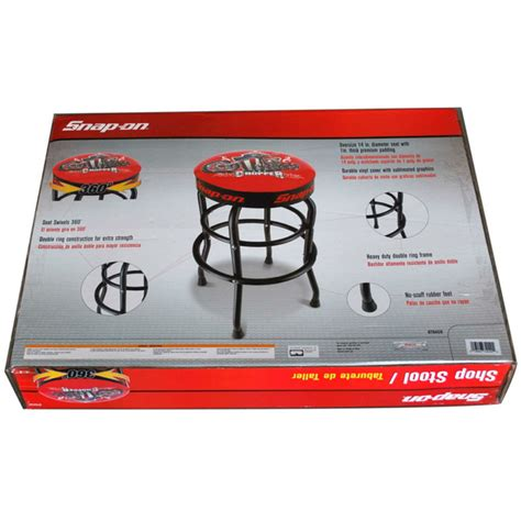 Snap On Garage by Snap On 174 Garage Shop Swivels 360 Degree Bar Stool With