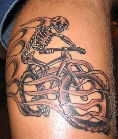 mountain bike tattoo designs 30 bicycle ideas for you