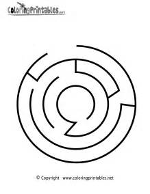 maze coloring pages easy mazes coloring pages