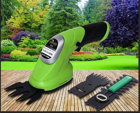 Mesin Pemotong Rumput Portable Portable Garden Power Tools 3 6v 2 In 1 Combo Lawn Mower