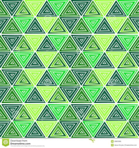 triangle pattern in stock green triangle pattern royalty free stock photo image