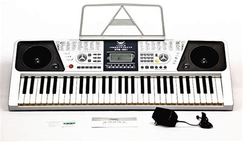 Keyboard Xts xts 661 61 key electronic piano organ portable keyboards grey lazada malaysia