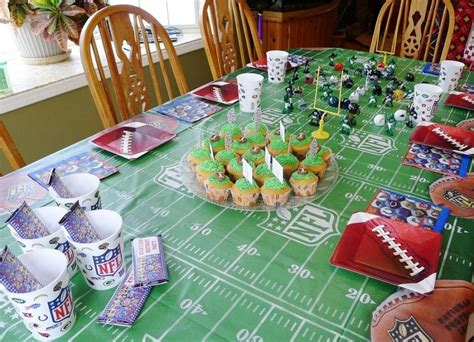 football decorations for celebration the