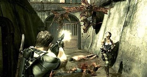 format video re4 resident evil 5 for ps4 and xbox one has a release date