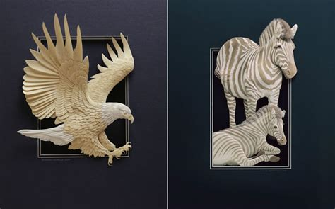 Paper Animals - extraordinary paper animals amazing animals