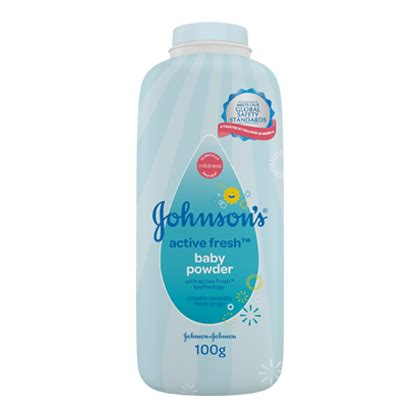 Johnson Powder Acttive Fresh 100gr Rumah bedak bayi johnson s active fresh johnson s 174 baby indonesia
