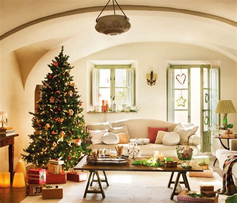 images of christmas living rooms the homemaker s guide to welcoming christmas in the living